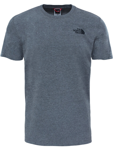 The North Face M's Red Box S/S Tee TNF Medium Grey Heather